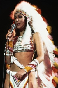 Cher in her 'Half Breed'outfit