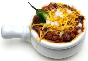 Food - Sleep- Black Bean Chili