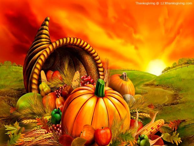 Cornucopia-Thanksgiving-Wallpaper
